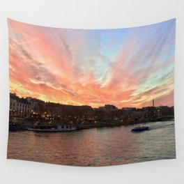 Parisien Sunset Wall Tapestry
