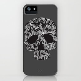 Sex kill you everyday (SKULL) iPhone Case