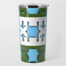 Symmetry: Crocodile Travel Mug