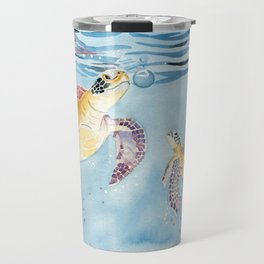 Take A Breath Sea Turtle Travel Mug