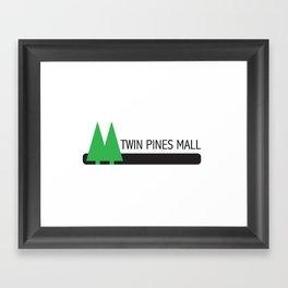 Twin Pines Mall Framed Art Print