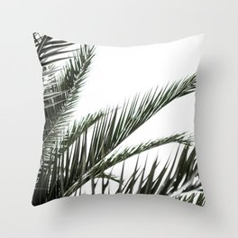 Palm Leaves 2 Throw Pillow