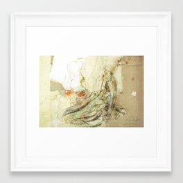 Hommage à Beardsley IX Framed Art Print