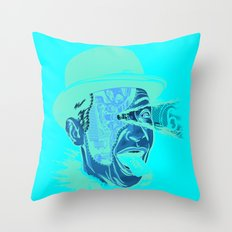 Reel Passion Throw Pillow