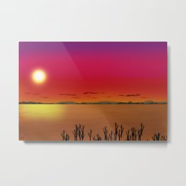 Red Sky Delight Metal Print