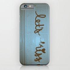 let's kiss  Slim Case iPhone 6s