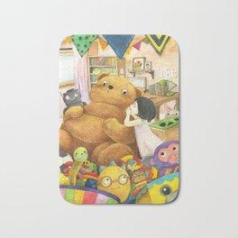 Secret   Children's illustration Bath Mat