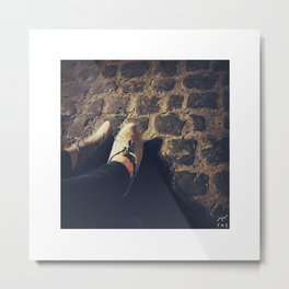 female feet #1 Metal Print