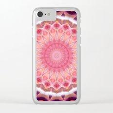Mandala feminine look Clear iPhone Case