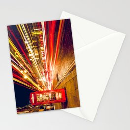 London Phone Booth Long Exposure Stationery Cards