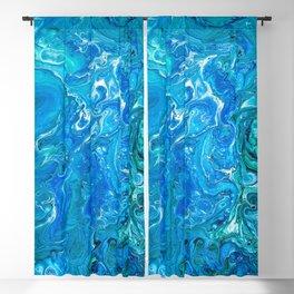 Elegant Crazy Lace Agate 2 - Blue Aqua Blackout Curtain