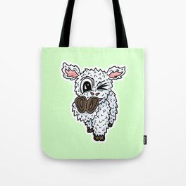 Mr Lamb Sayz Step Into Spring Tote Bag