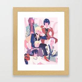 Buccellati Fashion Mafia Framed Art Print