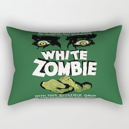 White Zombie Rectangular Pillow