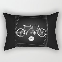 vintage bicycle Rectangular Pillow