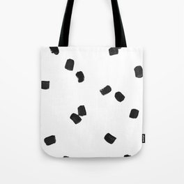 Dashing Strokes Tote Bag