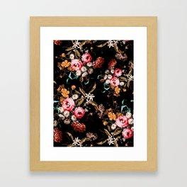 Midnight Garden IV Framed Art Print