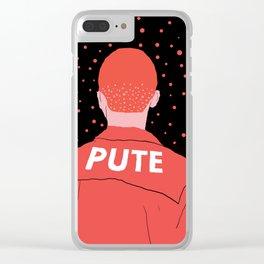 Pute Clear iPhone Case