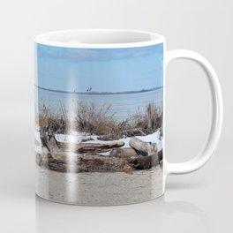 Maumee Bay in Winter III Coffee Mug