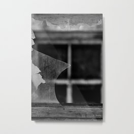 War Burden IV Metal Print