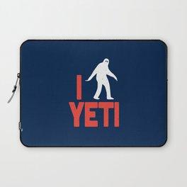 I heart Yeti Laptop Sleeve