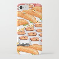 sushi iPhone & iPod Cases featuring Sushi !! by Bartone