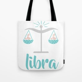 Libra Sep 23 - October 22 - Air sign - Zodiac symbols Tote Bag