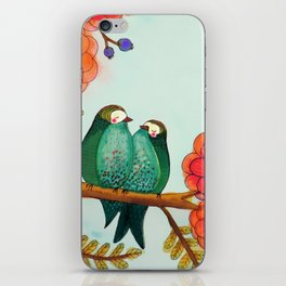 feather bellies iPhone Skin