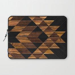 Urban Tribal Pattern 11 - Aztec - Wood Laptop Sleeve