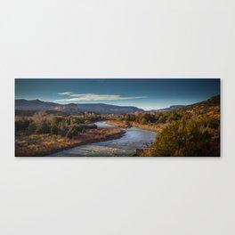 Rio Chama, New Mexico Canvas Print