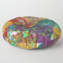 Teenage Rampage Floor Pillow