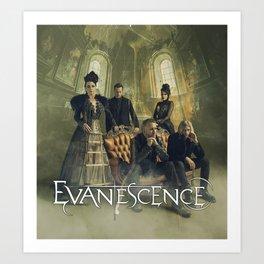evanescence synthesis personil tour 2019 duren Art Print