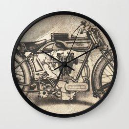 Norton Motorcycles Wall Clock