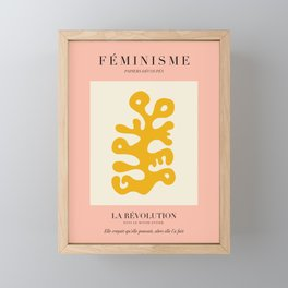 L'ART DU FÉMINISME III Framed Mini Art Print