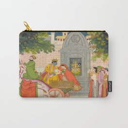 Rukmini Elopes with Krishna Carry-All Pouch