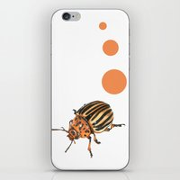insect iPhone & iPod Skins featuring Insect by Chiara Martinelli Creations