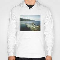 greek Hoodies featuring Greek landscape by MarioGuti