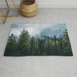 Sequoia Foggy Forest Rug