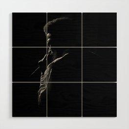 Soulful Silhouette Wood Wall Art