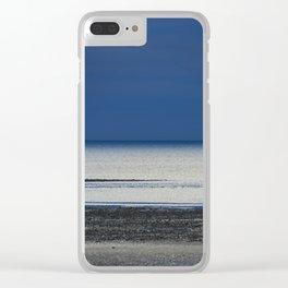 Calmness Clear iPhone Case