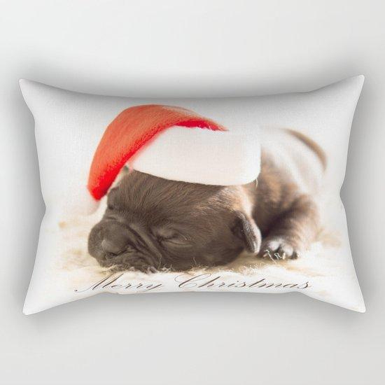 Cute Merry Christmas Rectangular Pillow