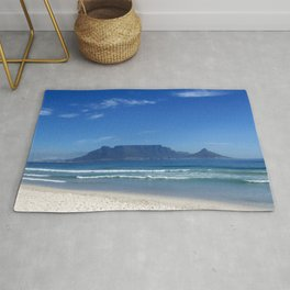 Table Mountain Cape Town Rug
