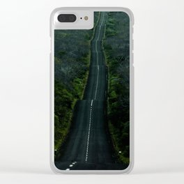 Galapagos Road Clear iPhone Case