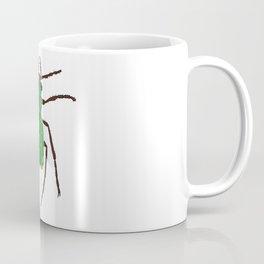 Green tiger beetle Coffee Mug