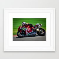 ducati Framed Art Prints featuring Ducati by marcod
