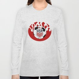 United States Soccer Long Sleeve T-shirt