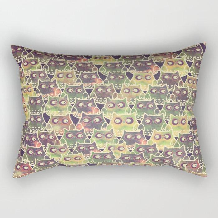 owl-83 Rectangular Pillow