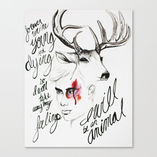Wild Youth Canvas Print