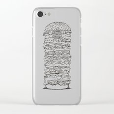 Giant Burger Clear iPhone Case