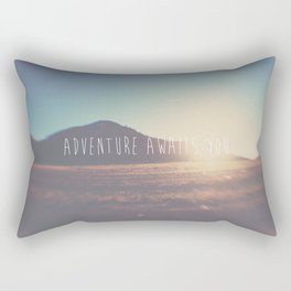 adventure awaits you ... Rectangular Pillow